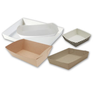 Baking Paper Trays