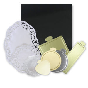Cake Boards/Paper Doilies