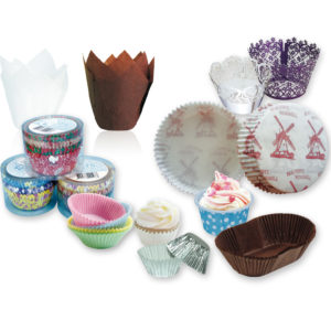 Cake Cups/Trays/Sleeves