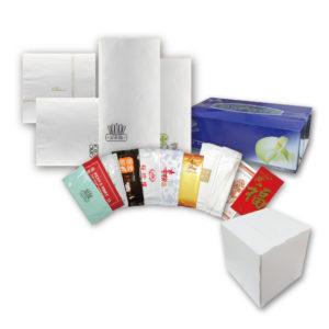 濕紙巾/餐紙巾/紙巾盒