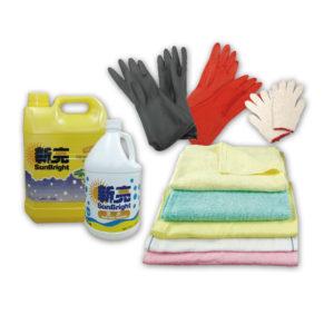 Towels/Detergent/Gloves
