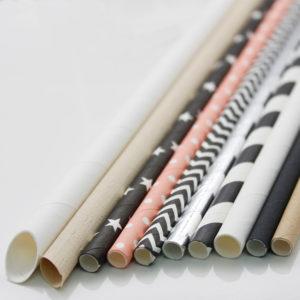 Paper Straws/Fibre Straws